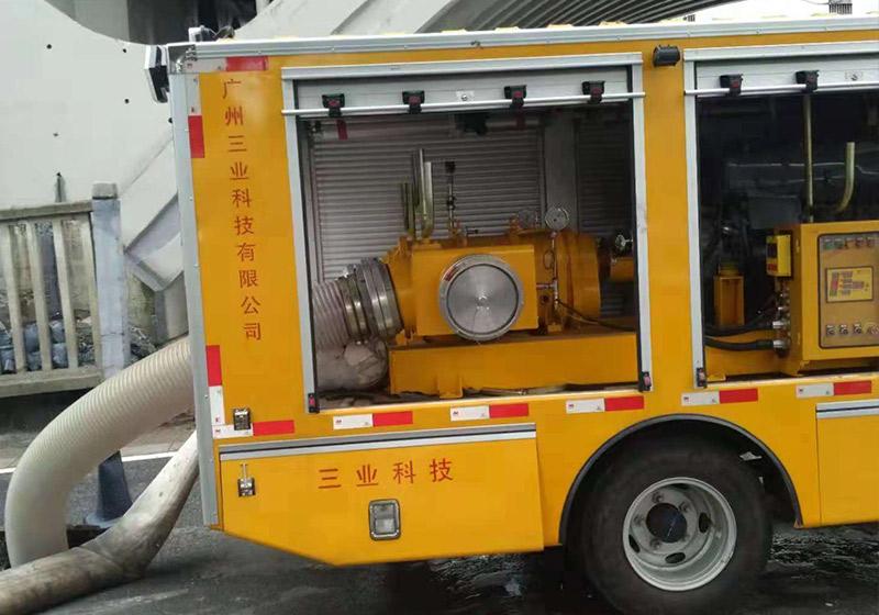 管道疏通抢险应急排水设备
